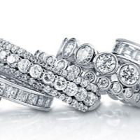 Buy CZ Eternity Rings & Bands from Berricle