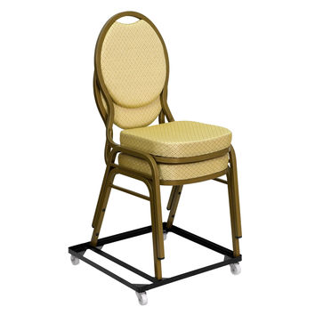 HERCULES Steel Stack Chair and Church Chair Dolly