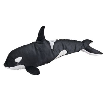19 Inch Orca Killer Whale Stuffed Animals Floppy Ocean Conservation Collection