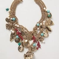 Sea Life Charm Necklace by Tribune Standard Gold One Size Necklaces