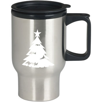 Christmas Tree Xmas27 For Stainless Travel Mug **