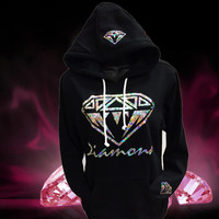 diamond hoodie, Sweatshirt for women
