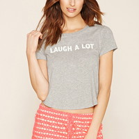 Laugh A Lot Graphic PJ Set