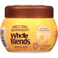 Garnier Whole Blends Honey Treasures Repairing Mask, 10.1 fl oz - Walmart.com