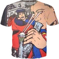 Superman Bong Laser T-Shirt