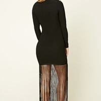 Rare London Fringed Dress