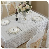 2017 European Table Decoration Dining-table Tablecloths Table Covers for Wedding Party Home Hotel Table Cloth Linens