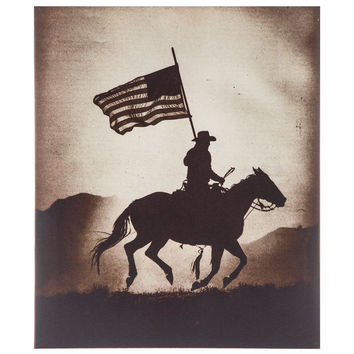 American Cowboy Canvas Wall Art | Hobby Lobby | 1292036