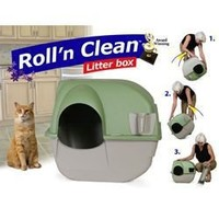 Omega Paw Self-Cleaning Litter Box, Pewter