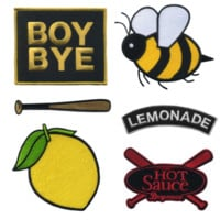 Lemonade Iron On Patch Set