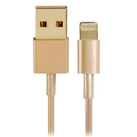 Gold 8-Pin to USB Charging Data Cable for iPhone 6/5S/5C/5