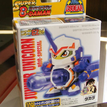 Takara 1997 Super Battle B-Daman OS Gear No 109 Junker Unicorn Hojo Special Model Kit Figure