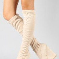 Tesso-06 Round Toe Wedge Boot