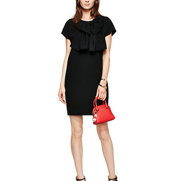 Kate Spade Bow Shift Dress Black