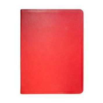 9 Inch Flexible Cover Journal  Traditional Leather-Red