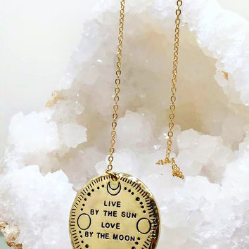 Magical Moon Goddess Necklace