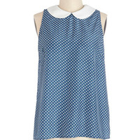 ModCloth Vintage Inspired Mid-length Sleeveless Reason to Celebrate Top