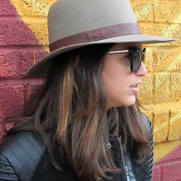Hat Attack Classic Fedora / Brown