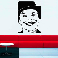Wall Decal Vinyl Sticker Decals Art Decor Actor The JOKER from Batman Smile Play games cards Style Fashion Living room Bedroom (r83)