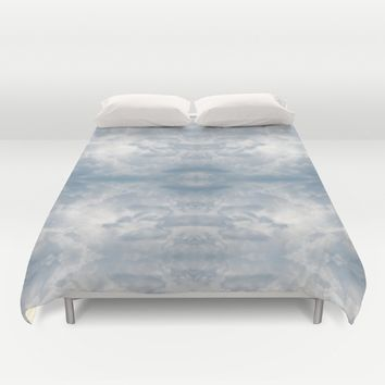 Clouds I Duvet Cover by Zuzugraphics