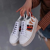 GUCCI Women Trending Fashion peal Casual Sneakers Sports Shoes White