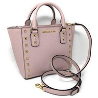 Michael Kors Sandrine Stud Small Leather Crossbody  Michael Kors bag