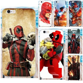 Deadpool Dead pool Taco Soft Cover Case New  Marvel Superheroes For Apple iPhone 4 4S 5 5C SE 6 6S 7 8 Plus X Galaxy Grand Core II Prime Alpha AT_70_6