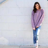 Woolly in Heathered Crimson by Woolly Threads - FINAL SALE