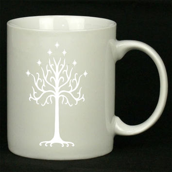 White Tree of Gondor For Ceramic Mugs Coffee *