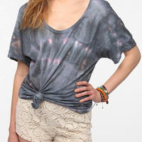 Urban Outfitters - One-Of-A-Kind Blue & Pink Marble DIY Tee