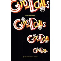 Guys and Dolls 11x17 Broadway Show Poster