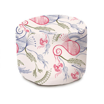 Indian Paisley Pouffe