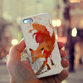 Fox Case for Iphone 4, 4s, Iphone 5, 5s, Iphone 5c, Samsung Galaxy S3, S4, S5, Galaxy Note 2, Note 3.