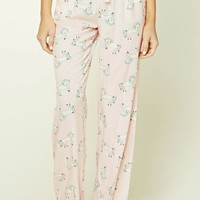 Unicorn Print PJ Pants