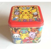 Pokemon Center 2013 Eevee Vaporeon Umbreon Snivy Latias Latios Charizard Mew Raichu & Friends Pokedoll Collector Tin With Polvorone Cookies