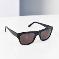 Sicky Eyewear Sporty Square Sunglasses- Black One