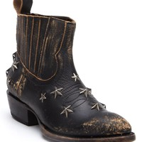 Matisse Run Wild Star Studded Distressed Ankle Boots