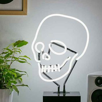 Neon Mfg. Skull Table Lamp