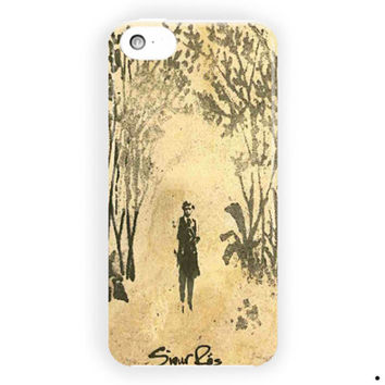 Sigur Ros Beauty Art Cover Design For iPhone 5 / 5S / 5C Case
