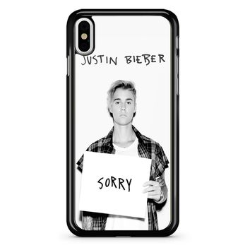 Justin Bieber Sorry iPhone X Case