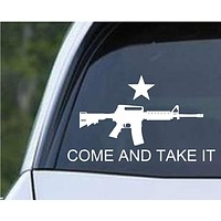 Come and Take It M16 Die Cut Vinyl Decal Sticker