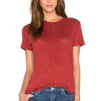 IRO Clay Tee in Red