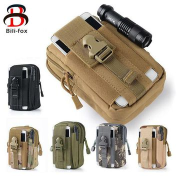 Tactical Waist Phone Bag for Samsung Galaxy A3 A5 J3 J5 S5 S7 Pouch Pocket for Redmi 4 Pro Xiaomi 5 note 3 note 4 note 3 Cases