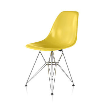 Herman Miller Eames® Molded Fiberglass Side Chair Wire Base
