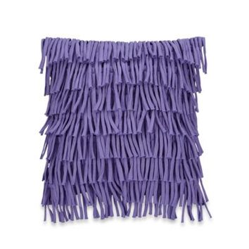 Anthology™ Melody Square Fringed Throw Pillow