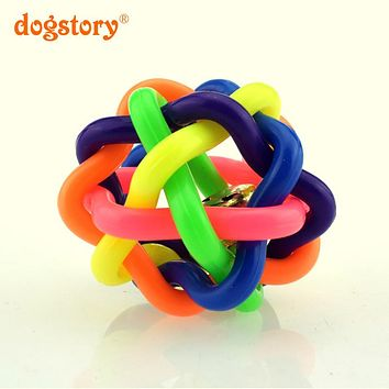 1Pieces/Dogstory New Style Cat Toys Ball Dog Toy Natural Non-Toxic For Dog Rubber Ball Pet Chew Training Toys Pets Products