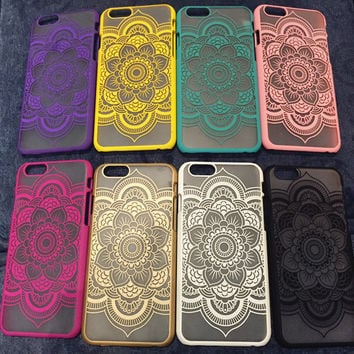Cute Mandrake Lace Case for iPhone