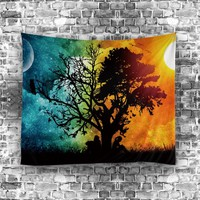 Indian Tapestry Hippie Home Decorative Wall Hanging Tapestries landscape Towel Yoga Mat Bedspread Table Cloth