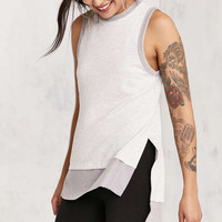 Silence + Noise Kelly High/Low Tunic Tank Top - Urban Outfitters