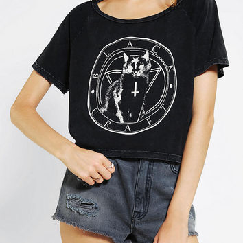 Urban outfitters black craft black cat from urban outfitters for Lucky cat shirt urban outfitters